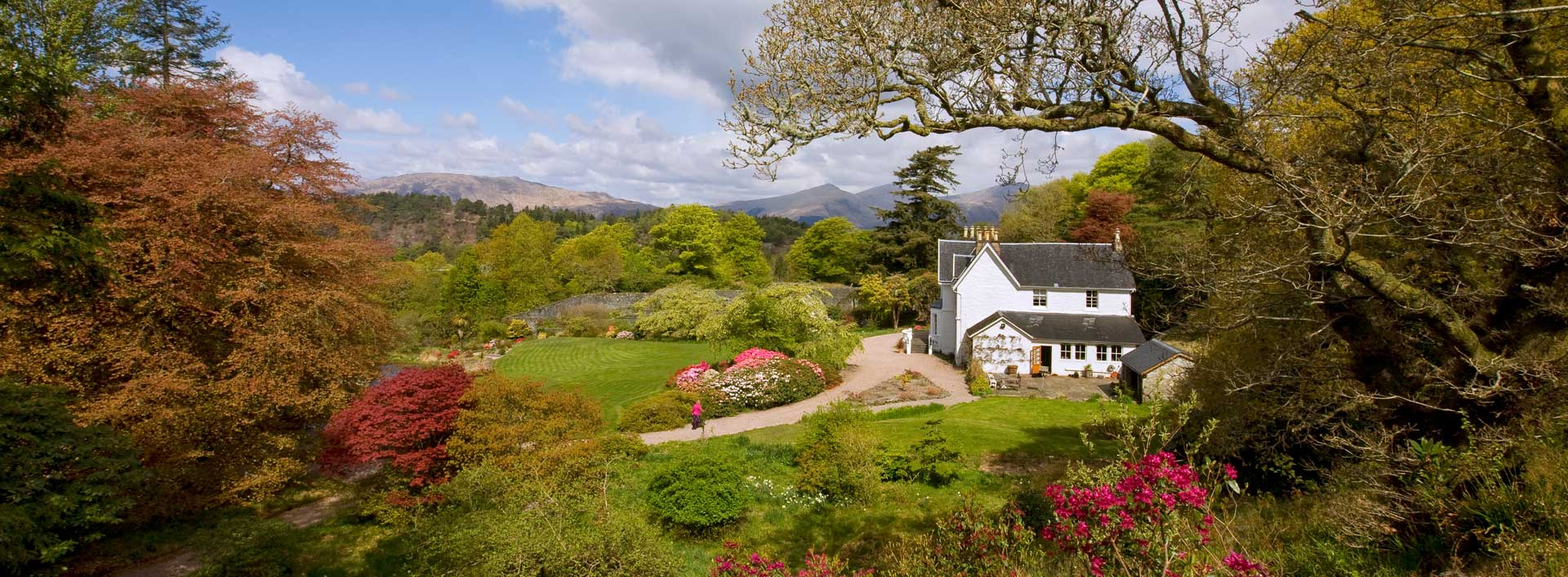 Druimneil House - country house bed and breakfast in Port Appin near Oban on the Argyll coast of Scotland